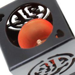 đèn xông tinh dầu gỗ vuông DD03