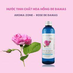 Nước Tinh Chất Hoa Hồng Rose De Damas Aroma Zone