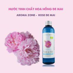 Nước Tinh Chất Hoa Hồng Rose De Mai Aroma Zone